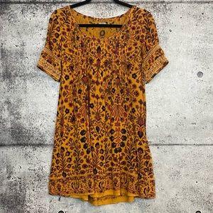 Urban Outfitters // Ecote // Bohemian Print Dress